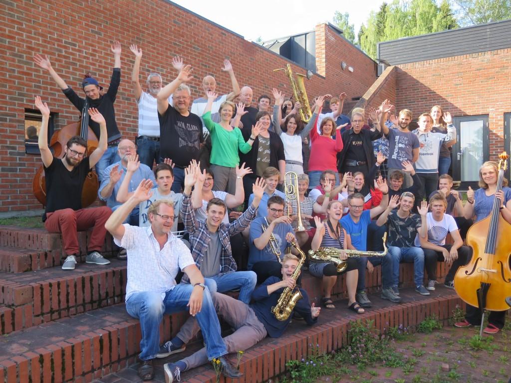 Sommerens vakreste storbandkurseventyr 2015. Foto: Ingrid Ytre-Arne