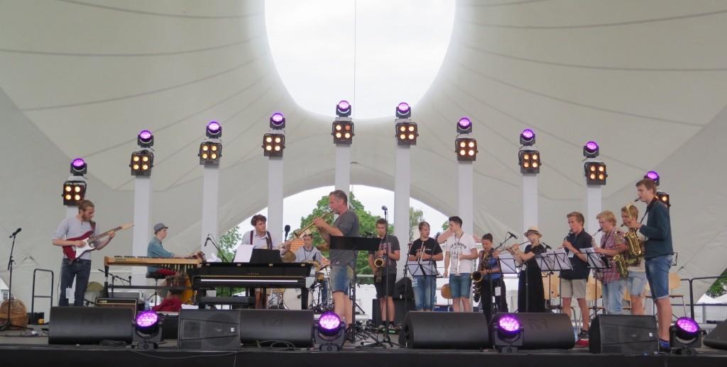 BVUS på Kongsberg jazzfestival 3.juli 2015. Foto: KG Jacobsen
