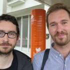 Hayden Powell og Eyolf Dale. Foto: Kari Grete Jacobsen