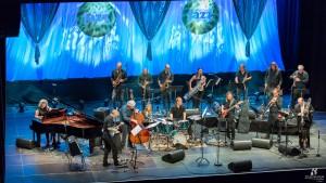 Ensemble Denada med Arild Andersen på Kongsberg jazzfestival 2016. Foto: Odd Eirik Skjolde