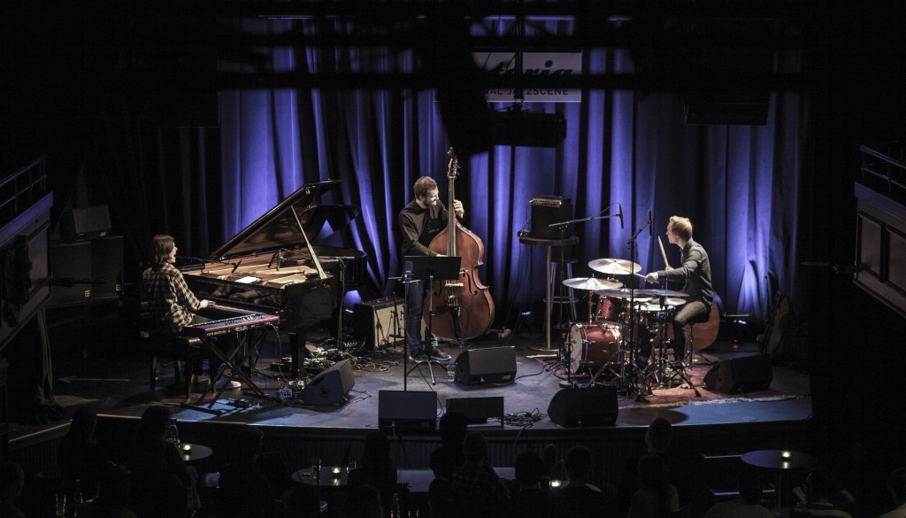 Close The Trace spilte på Framtida i norsk jazz i 2015 . Foto: Oda Hveem