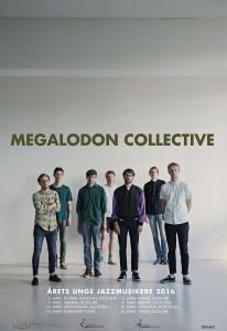 Megalodon Collective - Årets unge jazzmusikere Norgesturné mars 2017