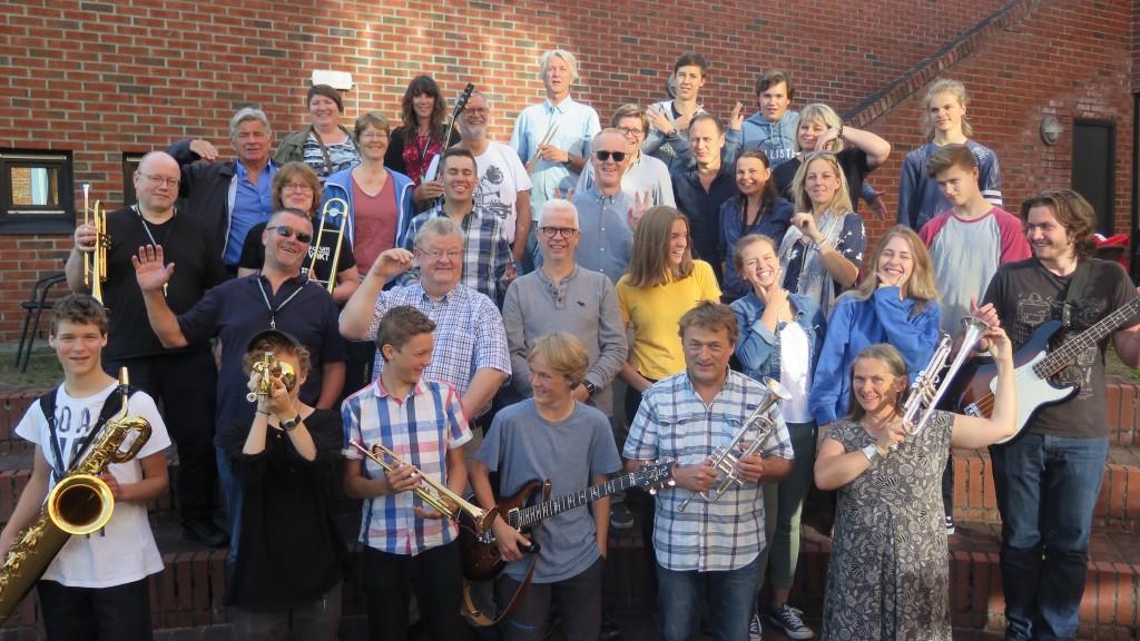 Jazz og samspel sto i høgsetet ei intens sommarveke på Storbadkurs 2017