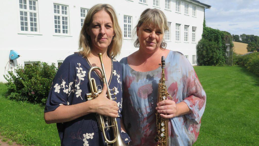 Ingrid og Christine Jensen. Foto: Ingrid Ytre-Arne