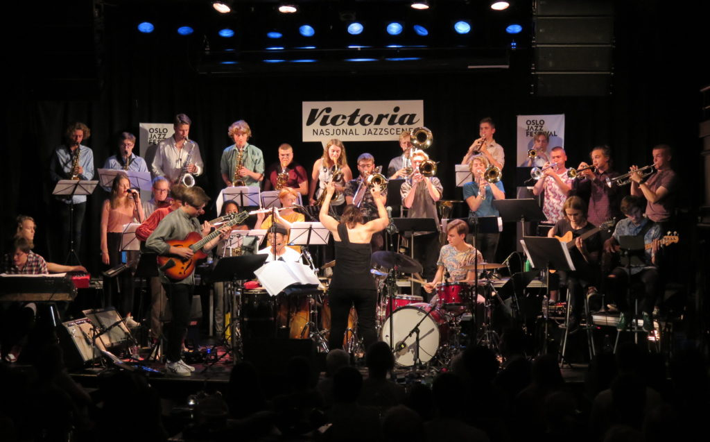 AOJO med venner på Oslo jazzfestival 2018. Foto: Audun Ellingsen