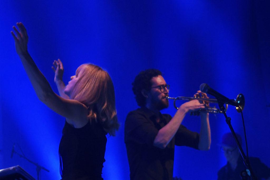Maria Schneider og Ensemble Denada Foto: Arne Strømme / Moldejazz