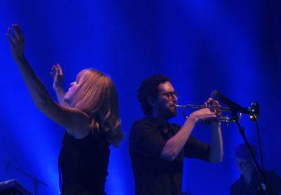 Ensemble Denada og Maria Schneider på hovedscenen i San Sebastian